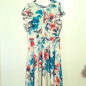 Danny and Nicole Floral Dress